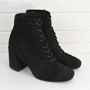 VINCE 'HALLE' SUEDE LACE UP BOOT #187-20